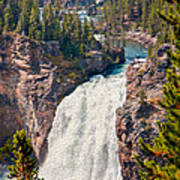 Yellowstone Upper Falls Art Print