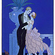 Yes Art Print by Georges Barbier