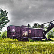 Yesteryear - Hdr Look Art Print