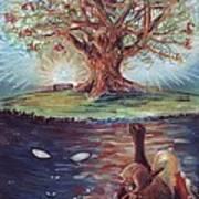 Yggdrasil - The Last Refuge Art Print