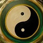 Yin And Yang 1 Art Print