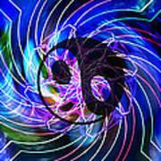 Yin Yang Transformations Art Print