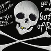Yo Ho And A Bottle Of Rum Art Print