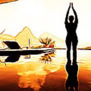 Yoga Life Art Print