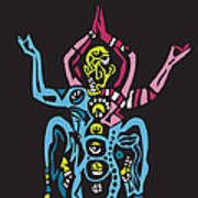 Yogazi Art Print
