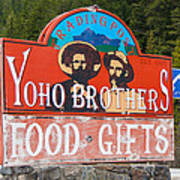 Yoho Brothers Art Print