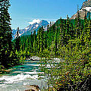 Yoho River In Yoho Np-bc Art Print