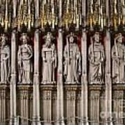 York Minster Statues 6100 Art Print