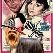Yorkshire Terrier Art Canvas Print - My Fair Lady Movie Poster Art Print