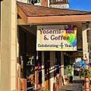 Yosemi Tea Coffee Shop Mariposa California  6935 Art Print