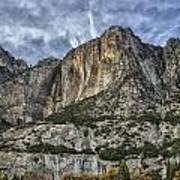 Yosemite Falls Dry Art Print