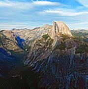Yosemite Glacier Point Panorama Art Print