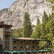Yosemite National Park Lodging Art Print