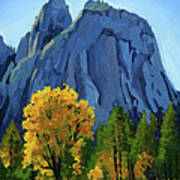 Yosemite Oaks Art Print