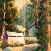 Yosemite Tent Cabins Art Print