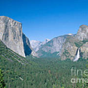 Yosemite Valley Art Print by David Davis