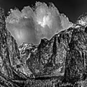 Yosemite Valley From Tunnel Art Print