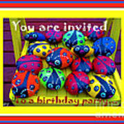 You Are Invited To A Birthday Party Art Print