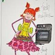 You Bake Art Print by Mary Kay De Jesus
