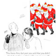 You Didn't Think Santacon Could Possibly Get Any Art Print