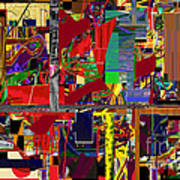You Saw No Picture 12 Print by David Baruch Wolk