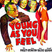 Young As You Feel, Us Poster, Jed Art Print