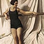 Young Bather. 1st Half 20th C. Artists Art Print