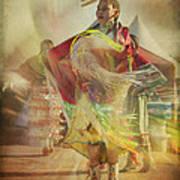 Young Canadian Aboriginal Dancer Art Print
