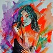 Young Girl 52622 Art Print