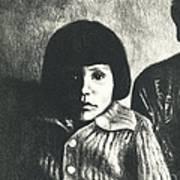 Young Girl Original Art Print