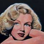 Young Marilyn Art Print by Shirl Theis