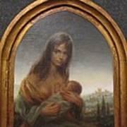 Young Mother Of Urbino Art Print