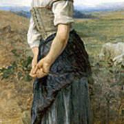 Young Shepherdess Art Print