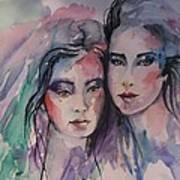 Young Women  Art Print