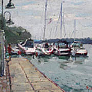 Youngstown Yachts Art Print