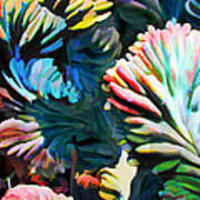 Your Brain As Cactus Art Print