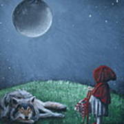 Youre Just A Big Bad Wolf. Art Print