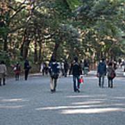 Yoyogi Park Art Print