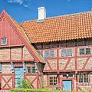 Ystad Old Mayors House Art Print