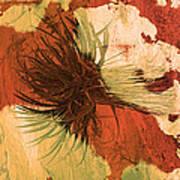 Yucca Abstract Warm Art Print