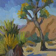 Yucca And Joshua Art Print