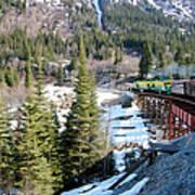 Yukon Railroad 3 Art Print