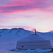 Yurt The Traditional Mongolian Yurt Photograph By Panoramic Images