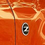 Z Emblem P Art Print