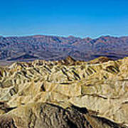 Zabriskie Point Panoramic Art Print