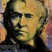 Zachary Taylor Art Print by Corporate Art Task Force