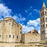 Zadar Cathedral Famous Landmark Of Croatia Art Print