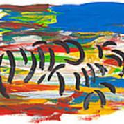Zafari Art Print