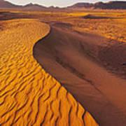 Zagora Desert In Morocco Art Print