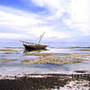 Zanzibar Boat 22 Art Print